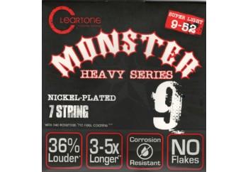Cleartone Monster Heavy Series .009-.052 Super Light 7 Strings - Elektro Gitar Teli