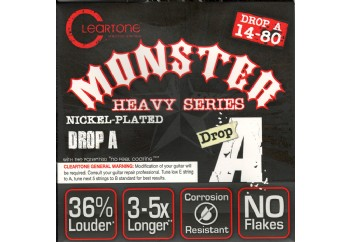 Cleartone Monster Heavy Series .014-.080 Drop A - Elektro Gitar Teli