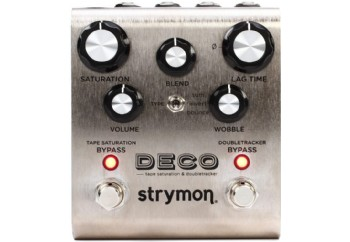 Strymon Deco Tape Saturation and Doubletracker Delay Pedal