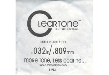 Cleartone Electric Single .032 - Elektro Gitar Tek Tel