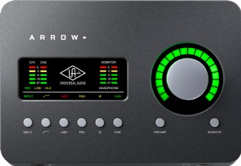 Universal Audio Arrow - DSP destekli 2 x 4 Thunderbolt 3 ses kartı