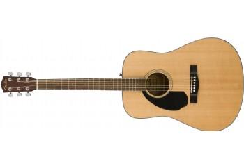 Fender CD-60S Left-Hand Natural - Solak Akustik Gitar
