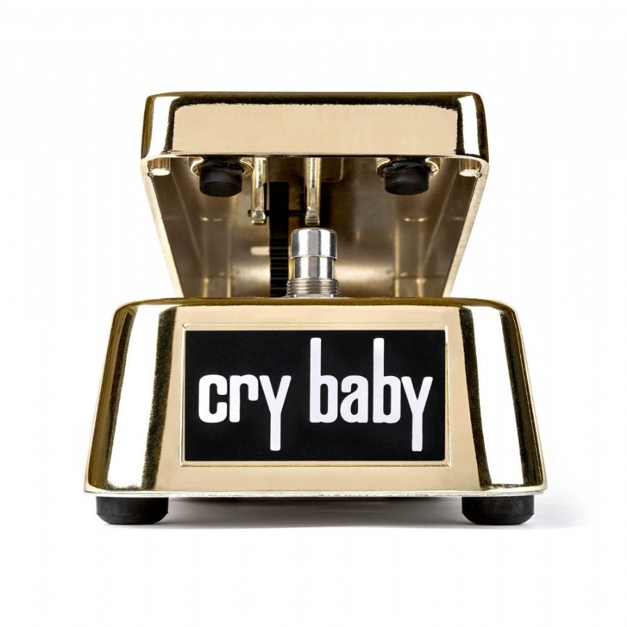 Dunlop GCB95G 50th Anniversary Gold Cry Baby Wah Pedal
