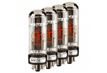 Groove Tubes GT-EL34-R MED QUARTET (Eşlenmiş Dörtlü) - Power Amfi Lambası