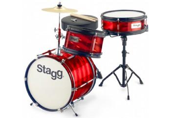 Stagg TIM JR 312B 3 Parça - Junior Davul Seti Red