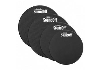 Evans SO0244 SoundOff Fusion Pack - Tom Susturucu