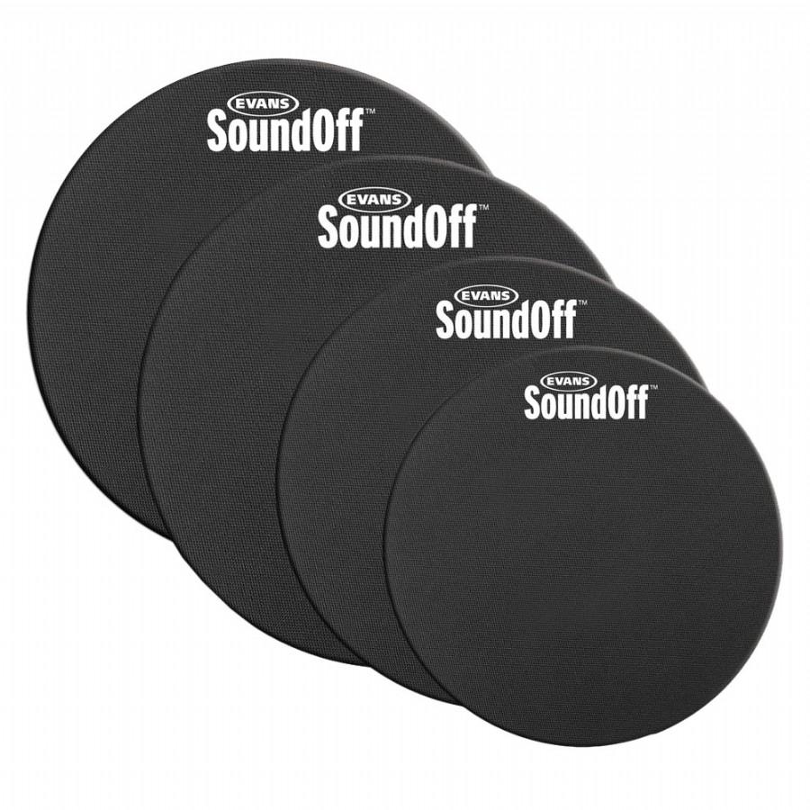 Evans SO0244 SoundOff Fusion Pack