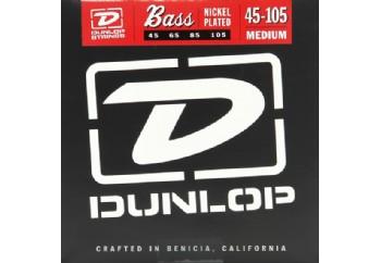 Jim Dunlop DBN45105 Nickel Plated Steel Medium Bass Takım Tel - Bas Gitar Teli 045-100