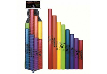 Boomwhackers C Major Diatonic Scale Set (BWDG) - Boomwhackers - Müzikal Boru Seti