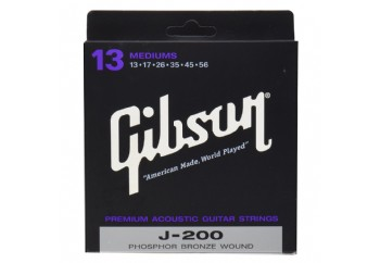 Gibson SAG-J200 Phosphor Bronze Medium