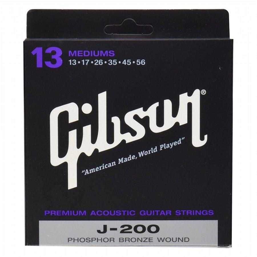 Gibson SAG-J200 Phosphor Bronze Medium
