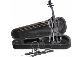 Stagg EVN X-4/4 Series Electric Violin Outfit BK