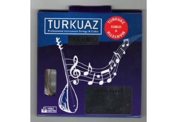 Turkuaz CG518 .18 mm Pyramid + Krom Bamlı Takım Tel