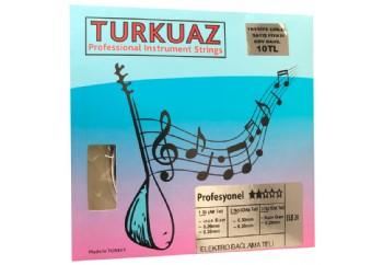Turkuaz ELB20 0.20 mm Siyah Çelik Tel + Bamlı Takım Tel - Elektro Bağlama Teli 020