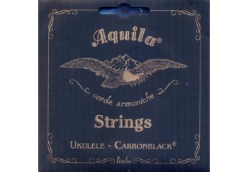Aquila 142U Carbonblack - Concert Ukulele Teli