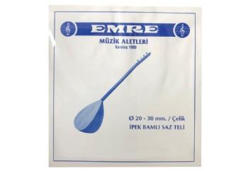 Emre 0.20 mm Çelik Takım Tel - Uzun Sap Bağlama Teli 020