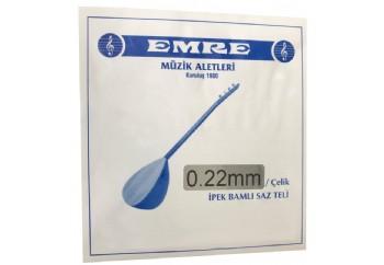 Emre 0.22 mm Çelik Takım Tel - Uzun Sap Bağlama Teli 022
