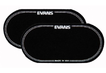 Evans EQPB2 Nylon Bass Patch Double Pedal - Bas Davul Deri koruyucu (2 Adet)