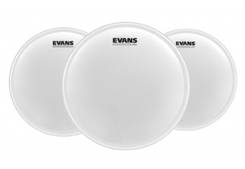 Evans UV1 Coated Tom Batter Set 10-12-14 inch (ETP-UV1-F) - Kumlu Tom Derisi Seti