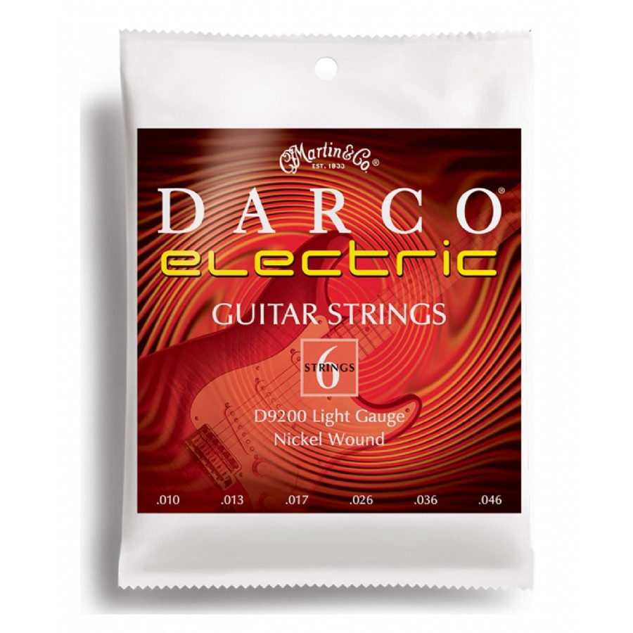 Martin D9200 Darco Electric Guitar Strings