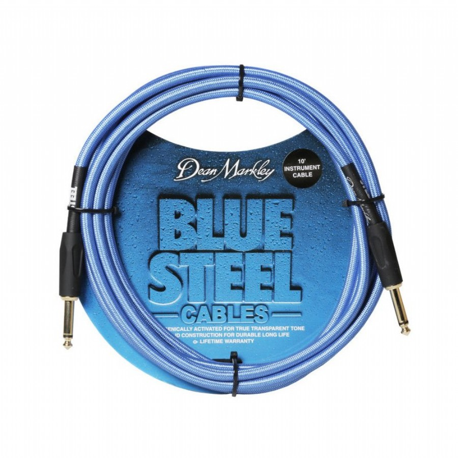 Dean Markley BSIN20S Blue Steel Cable 6m SS Guitar Cable