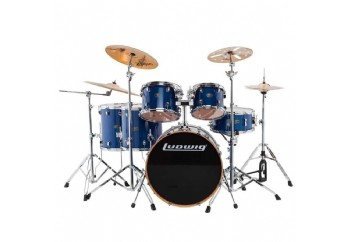 Ludwig Evolution Maple LCEM622X Transparent Blue - Davul Seti