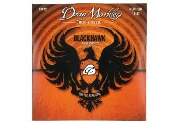 Dean Markley DM8012 Blackhawk Coated Pure Bronze A Strings - Akustik Gitar Teli 011