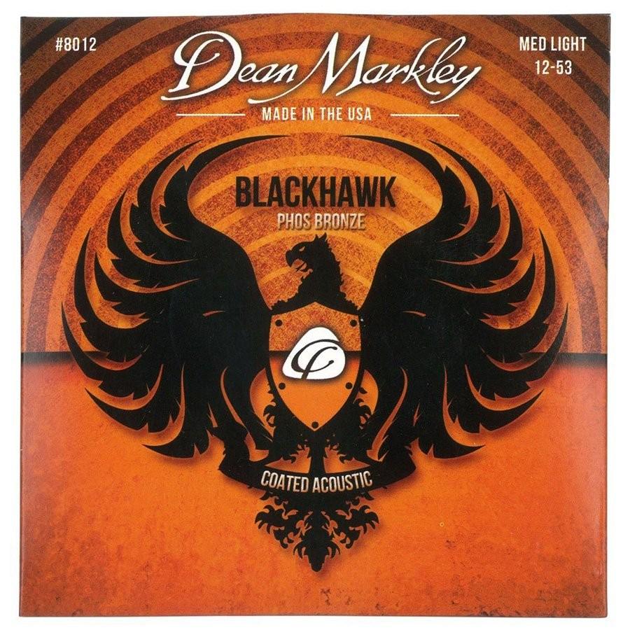 Dean Markley DM8012 Blackhawk Coated Pure Bronze A Strings