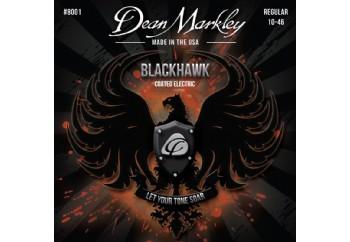 Dean Markley 8001 Regular Blackhawk Coated Electric Guitar Strings - Elektro Gitar Teli 010-046