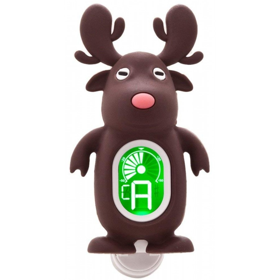 Swiff A7 Patent Cute Cartoon Reindeer Universal Clip-on Tuner