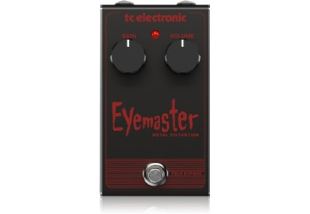 tc electronic Eye Master Metal - Distortion Pedalı