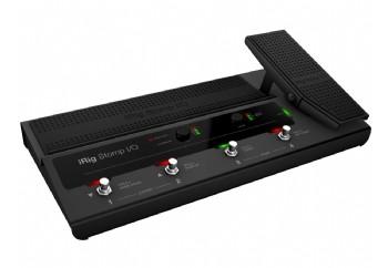 IK Multimedia iRig Stomp I/O - iPhone/iPod touch/iPad/Mac ve PC için Pedalboard Kontroller ve Ses Kartı