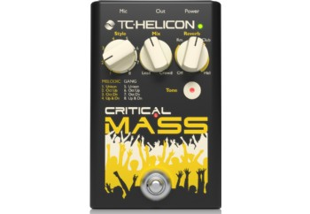 TC-Helicon Critical Mass - Vokal Prosesör