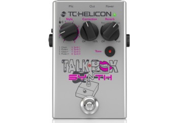 TC-Helicon Talkbox Synth - Vokal Pedalı