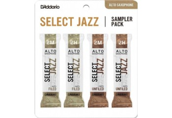 DAddario Select Jazz Sampler Pack 2M2H