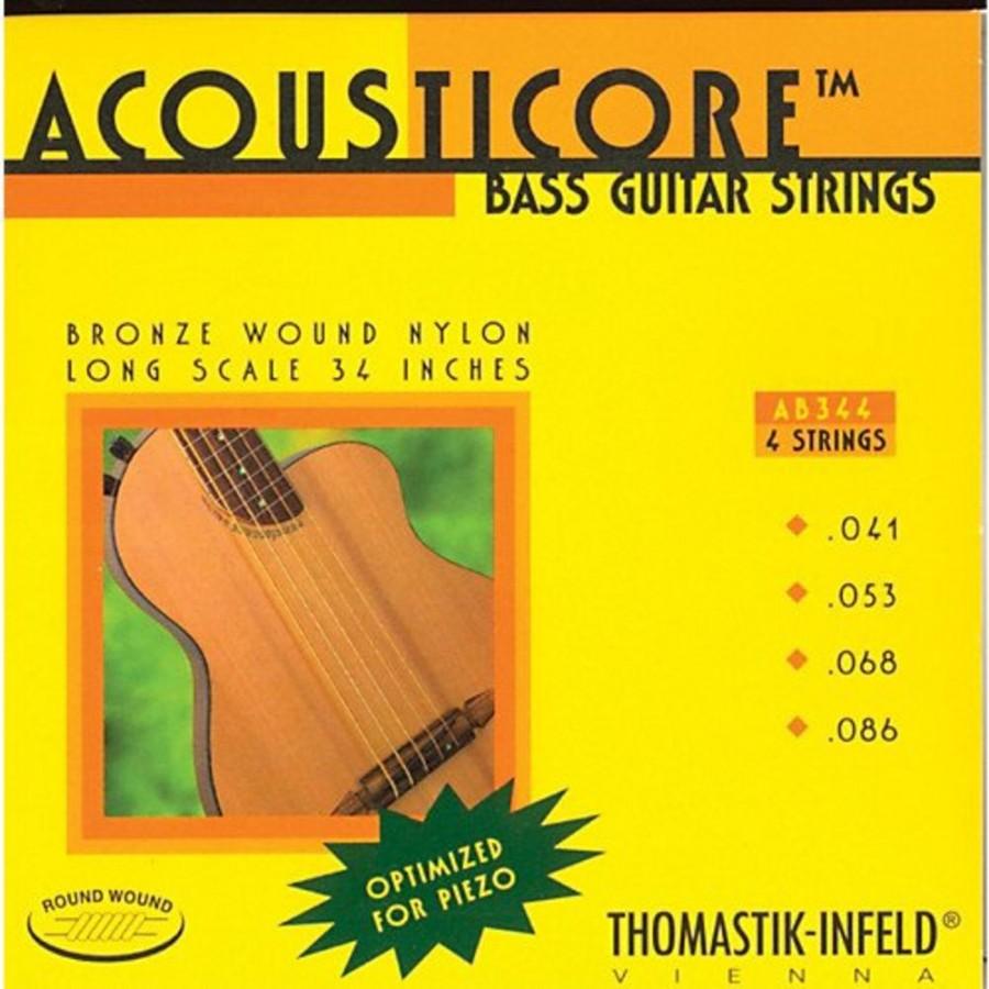 Thomastik AB344 Acousticore Phosphor Bronze 4-String Bass Strings