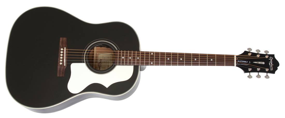 epiphone masterbilt aj 45me ebony elektro akustik gitar. Black Bedroom Furniture Sets. Home Design Ideas