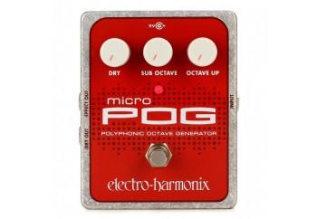 electro-harmonix Micro Pog - Octave Pedalı