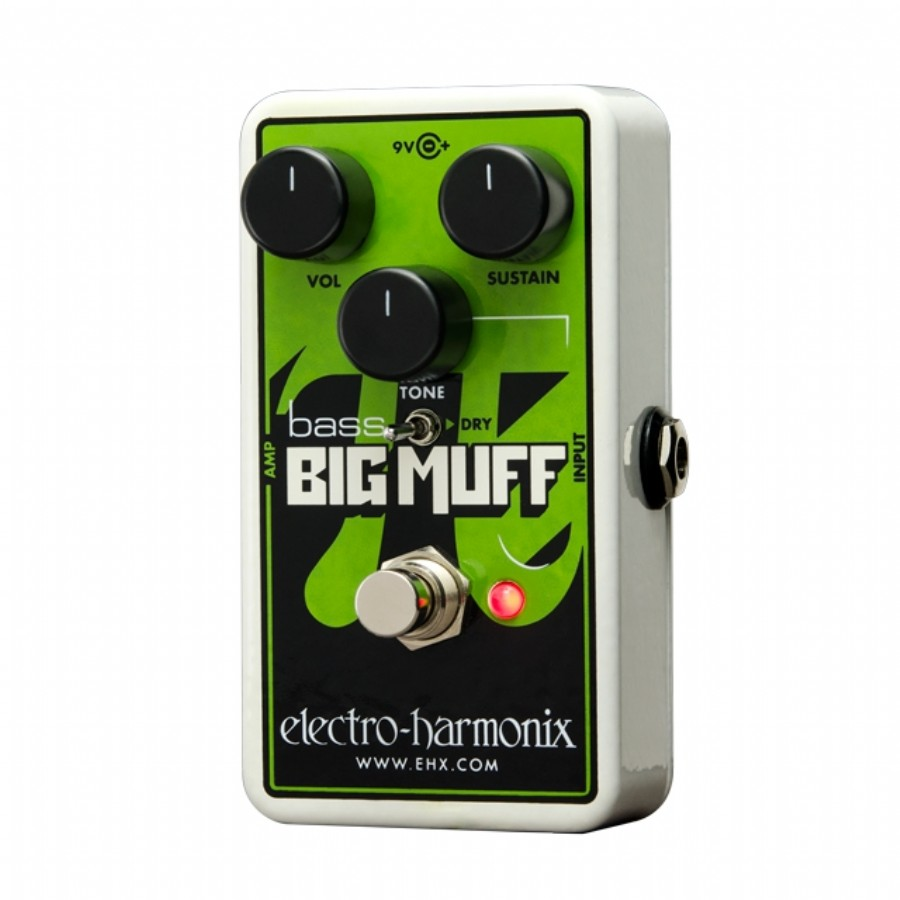 electro-harmonix Nano Bass Big Muff Pi Distortion Sustainer for bass