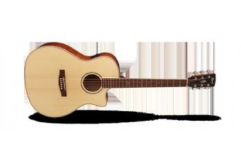 Cort GA-FF Natural Glossy - Elektro Akustik Gitar