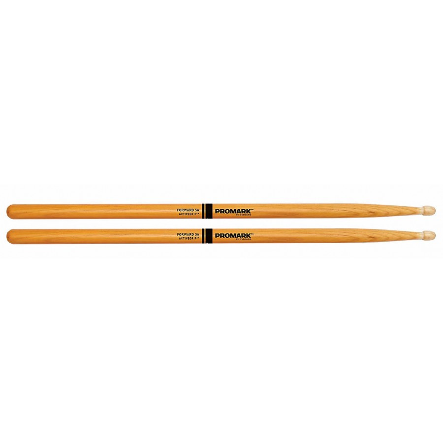 Promark Forward ActiveGrip Clear Drum Sticks with Acorn Tips