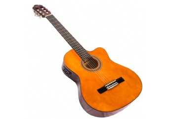 Valencia VC104CE Naturel - Elektro Klasik Gitar
