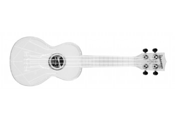 Kala Transparent Ice Soprano Waterman - Soprano Ukulele