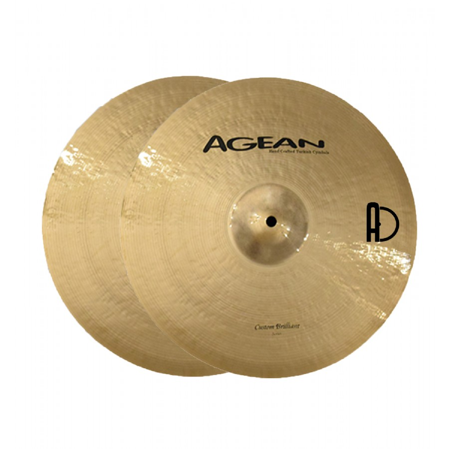 Agean Custom Brilliant Hi-Hat