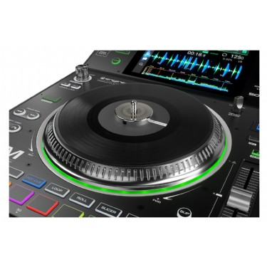 """Denon DJ SC5000M Professional DJ Media Player with Motorized Platter and 7"""" Multi-Touch Display"""