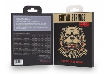 Pitbull Strings Silver Series SAG EL Phosphor Bronze Extra Light Takım Tel - Akustik Gitar Teli 011-050