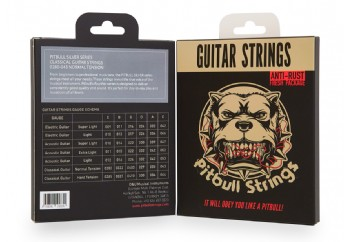 Pitbull Strings Silver Series SCG 0280-043 Normal Tension Takım Tel