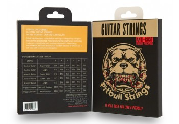 Pitbull Strings Gold Series GEG SL Super Light Takım Tel