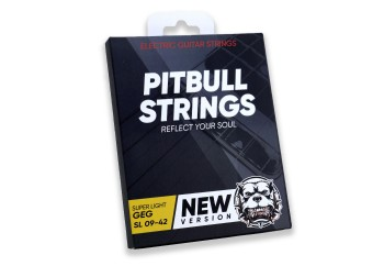 Pitbull Strings Gold Series GEG SL Super Light Takım Tel - Elektro Gitar Teli 009-042