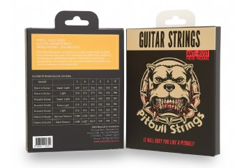 Pitbull Strings Gold Series GEG L Light Takım Tel